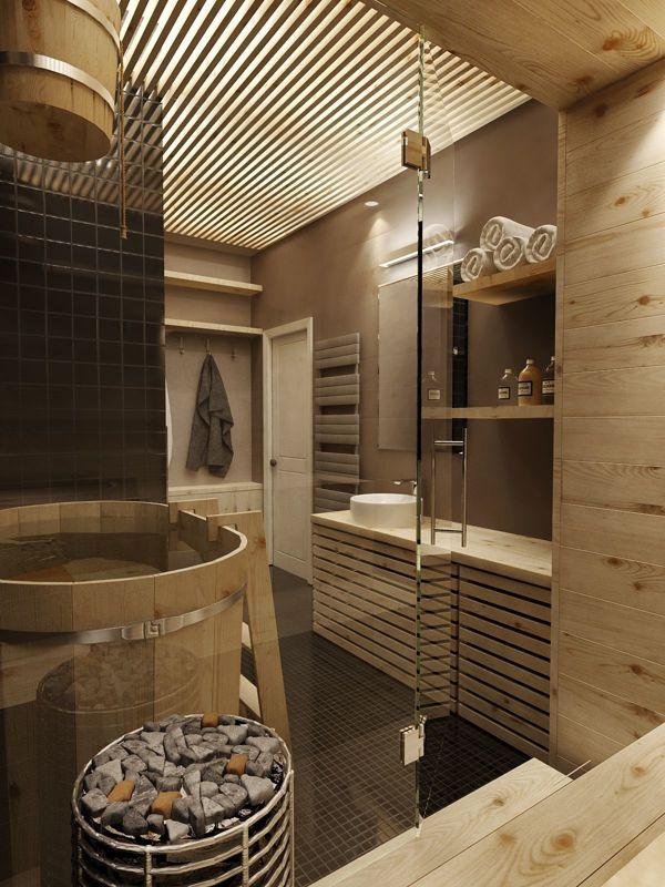 wooden bathroom decor ideas