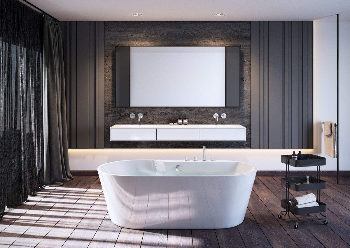 Beautiful bathroom designs arrange with unique and trendy for Trendy bathroom ideas