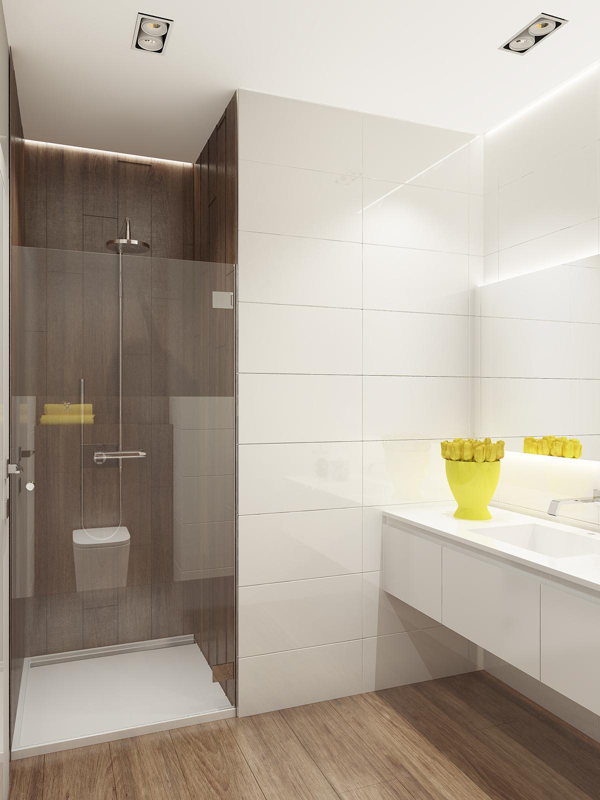 soft color bathroom design