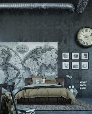 modern interior bedroom design