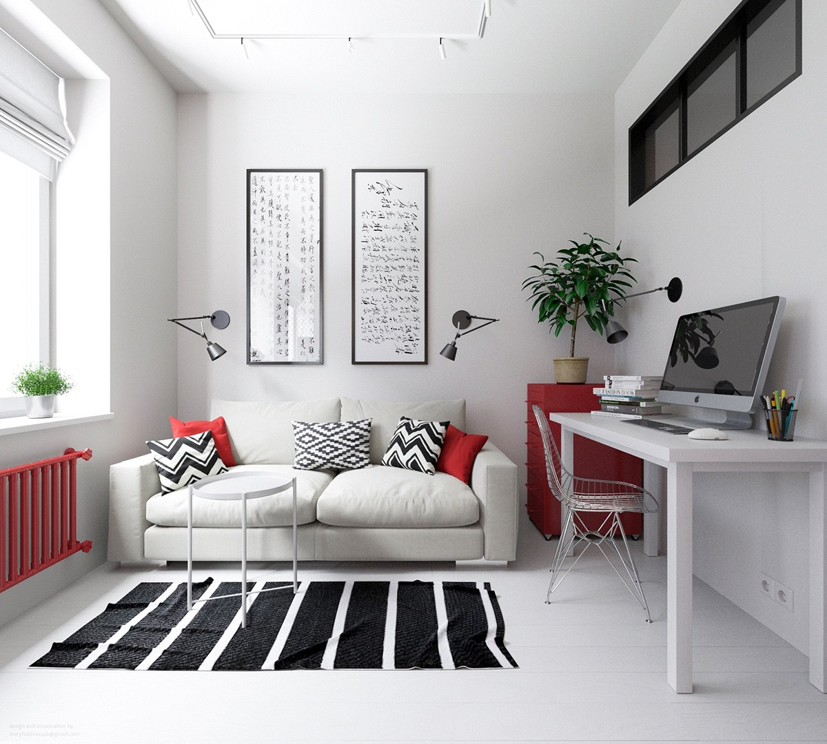 Small Living Roomdesign Ideas: Applying These 3 Small Apartment Designs With A Beautiful
