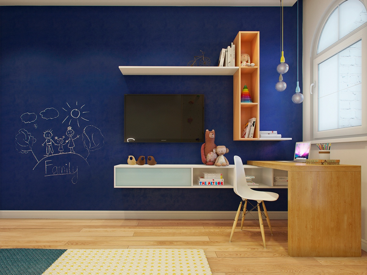 small kids workspace design