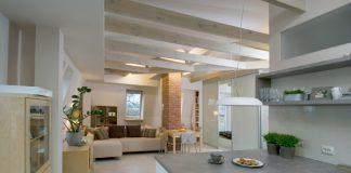 chic loft interior design