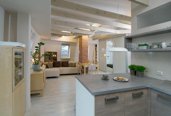 chic loft interior design