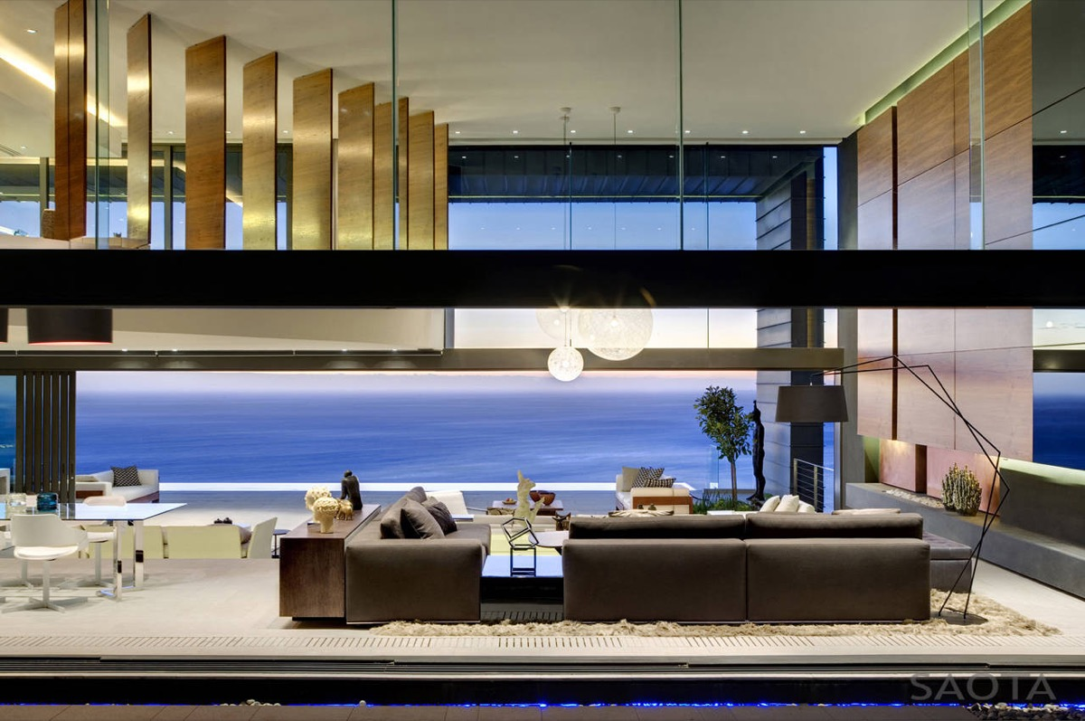 Luxury living room designs show a spectacular view which for Show living room designs