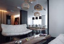 trendy studio apartment