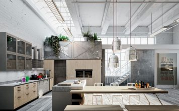 industrial kitchen designs