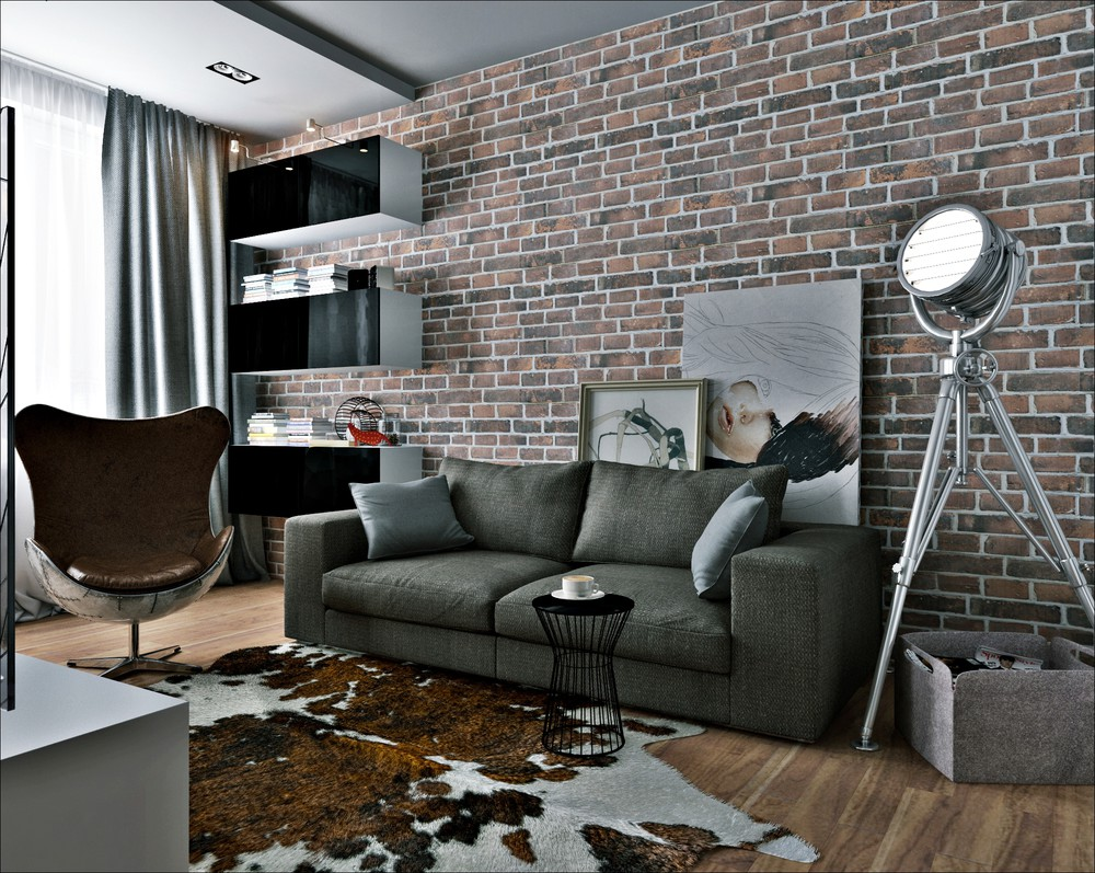 small modern apartment design