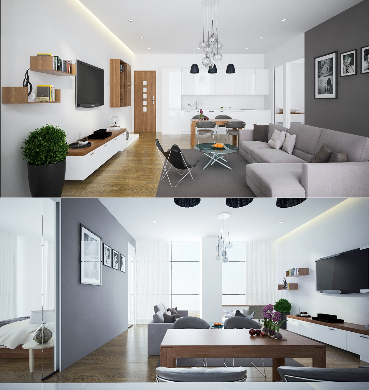 Open Plan Kitchen Apartment Designs: Find The Suitable Open Plan Apartment Designs With