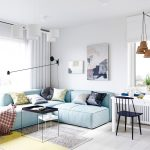 Scandinavian apartment design