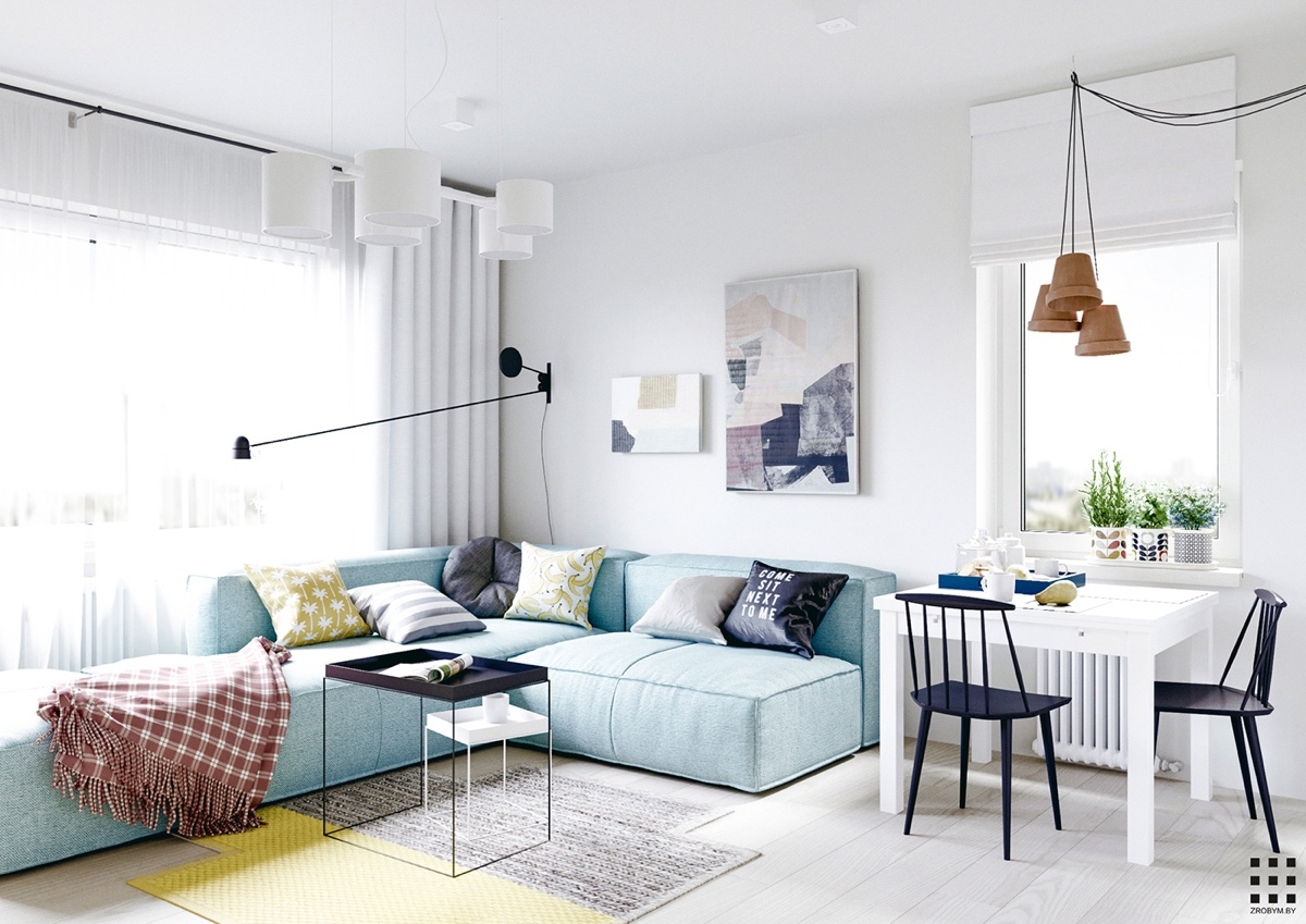 Beautiful Apartment Design scandinavian apartment design with beautiful and cute style