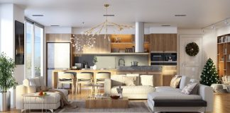 open plan interior designs
