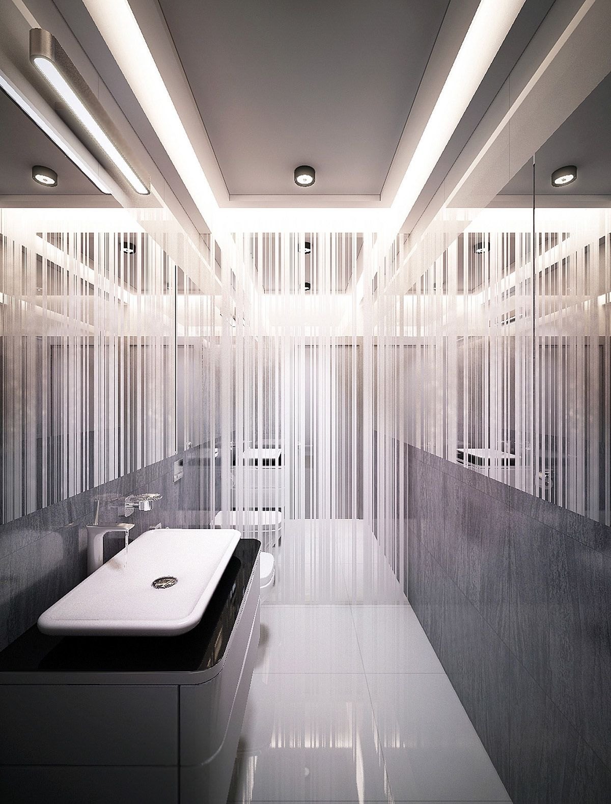 modern and elegant bathroom