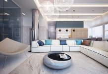 open plan living room interior designs