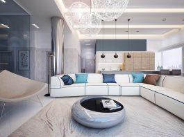 open plan living room interior designs