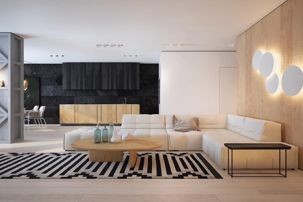 white and black home decor