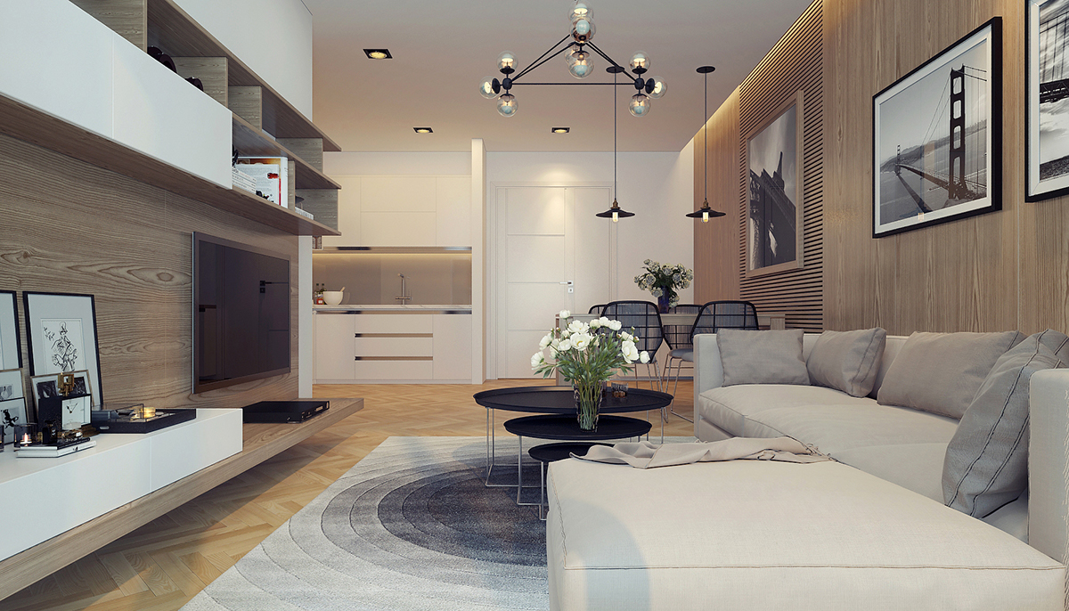 authentic living room