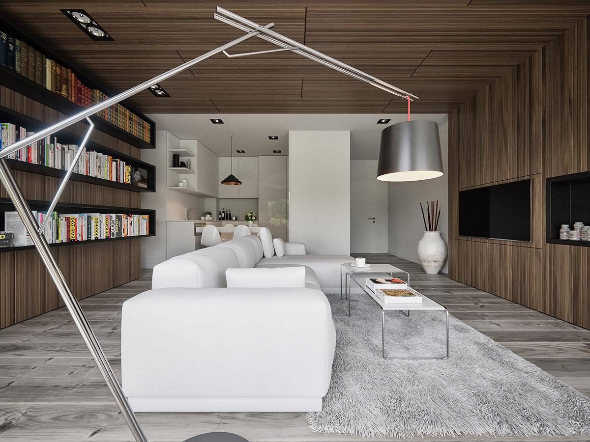 an industrial lighting decor