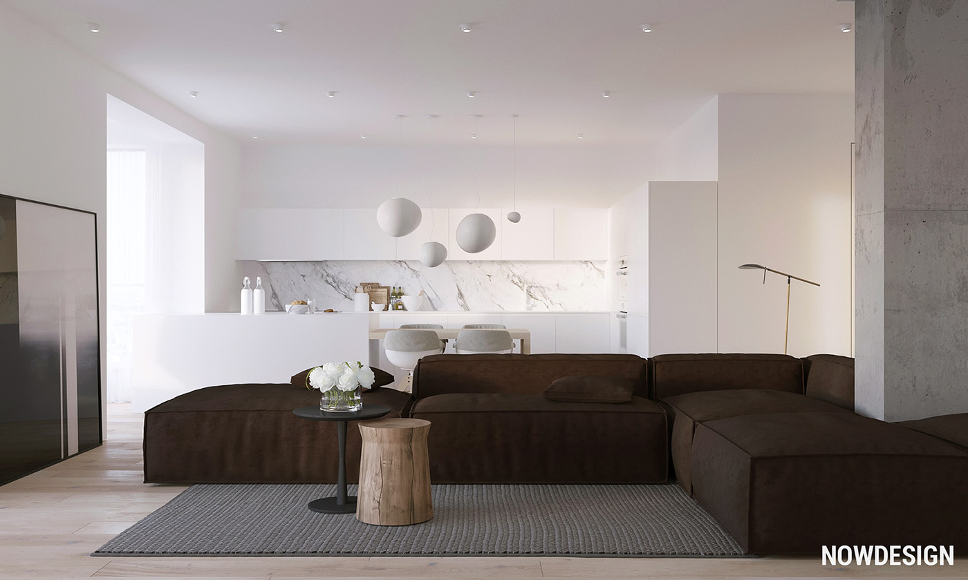 Variety of minimalist apartment designs which suitable to for Minimalist apartment design