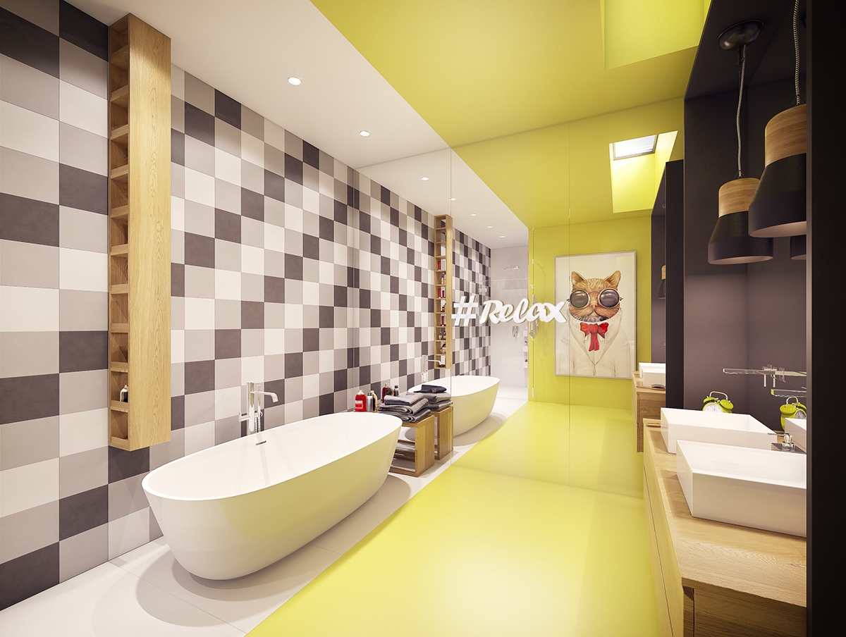 family-bathroom-mirror-wall
