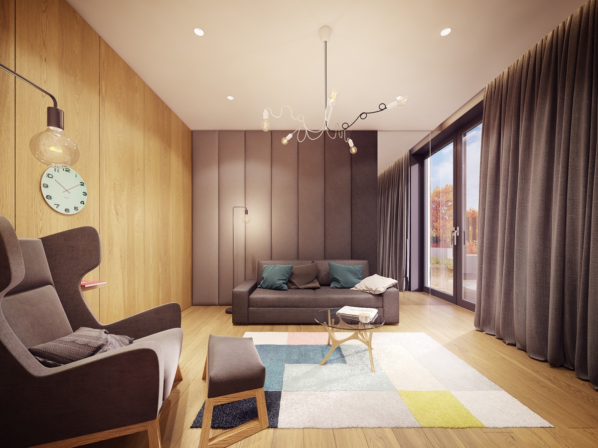 Fashionable Home Design Which Looks So Comfortable With An Awesome - Color in home design
