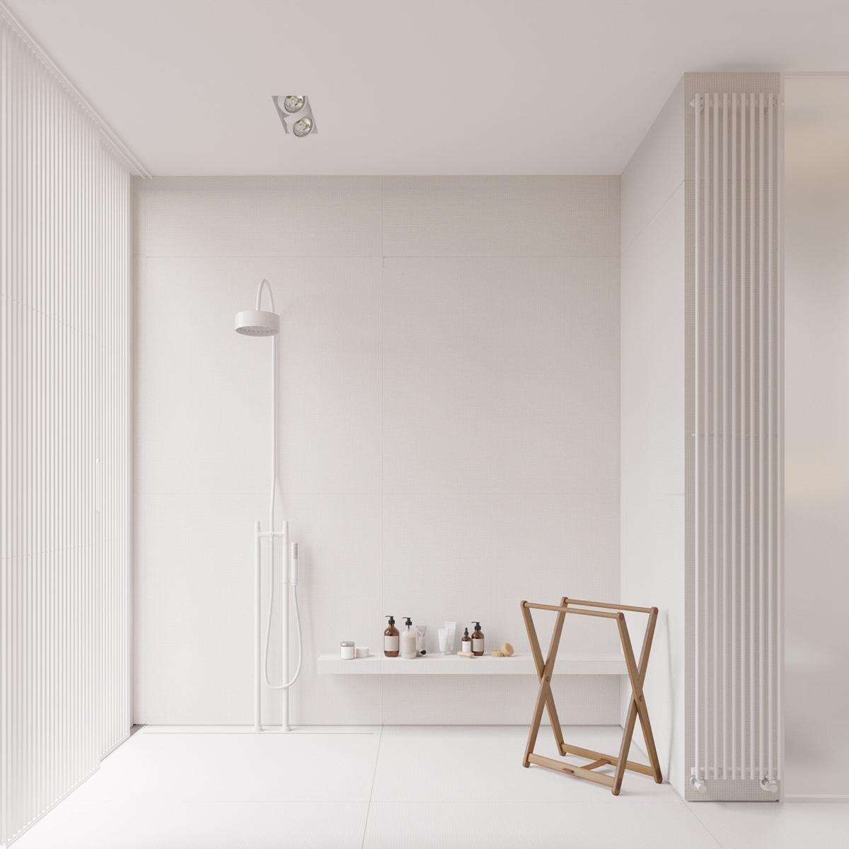open-shower-white-bathroom-bathroom-accessory
