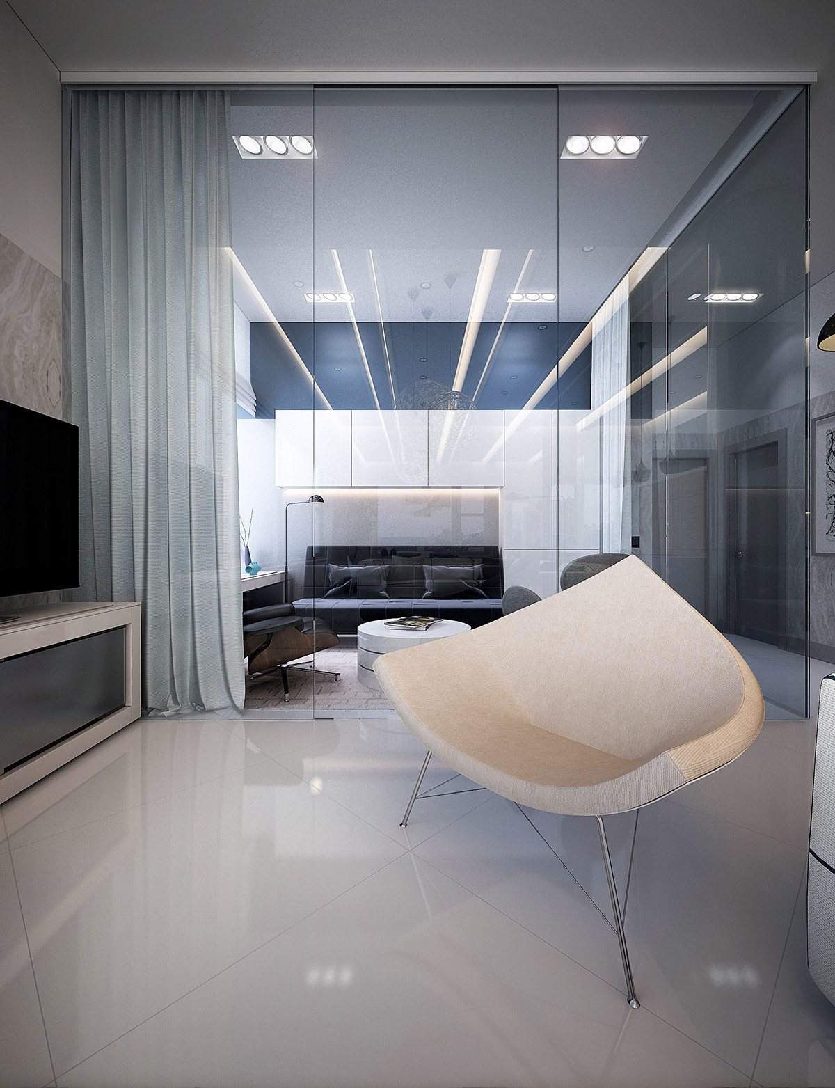 modern private room