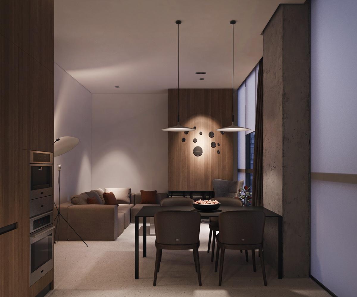 warm-wooden-walls-kitchen