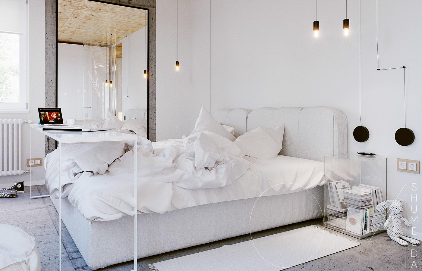 white-bedroom design
