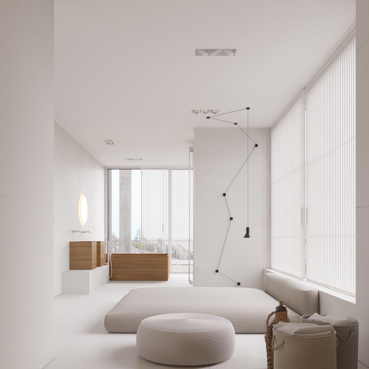 white-room-simple-bedroom-geometric-light
