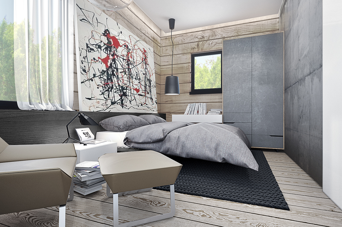 fashionable bedroom design