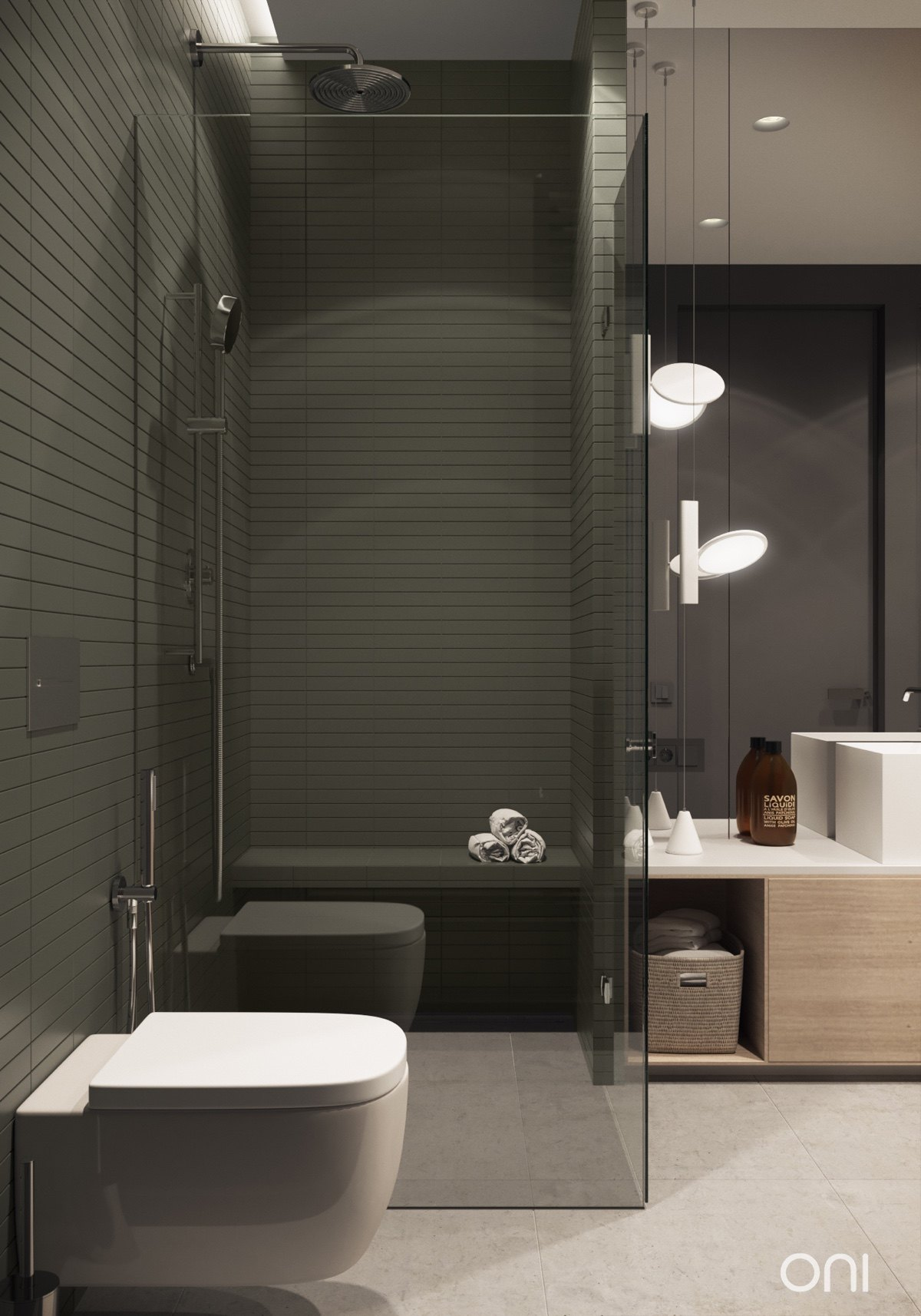 bathroom-glass-shower-cubicle-shower-bench