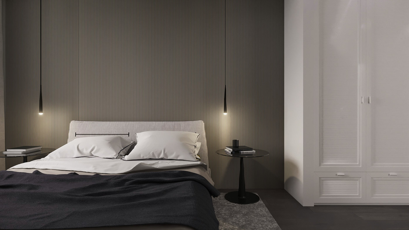 bedroom-black-and-white-theme