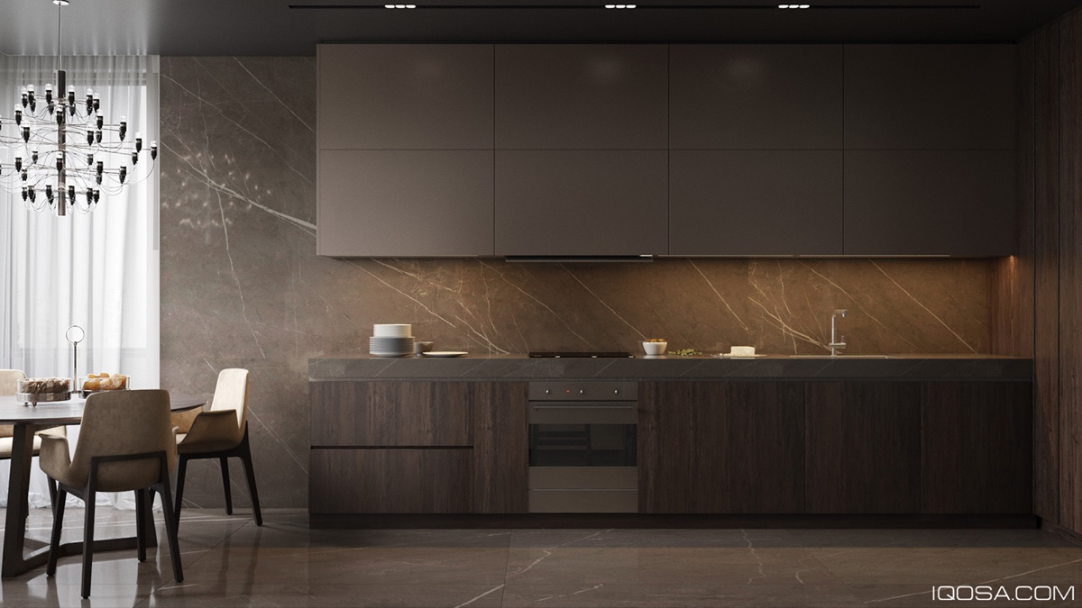 modern and traditional kitchen design