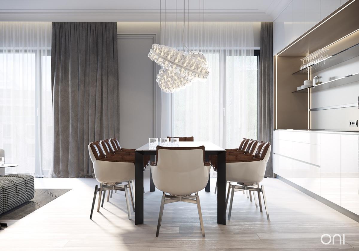 cozy dining room design