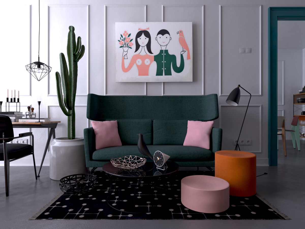 large-rug-cactus-green-loveseat