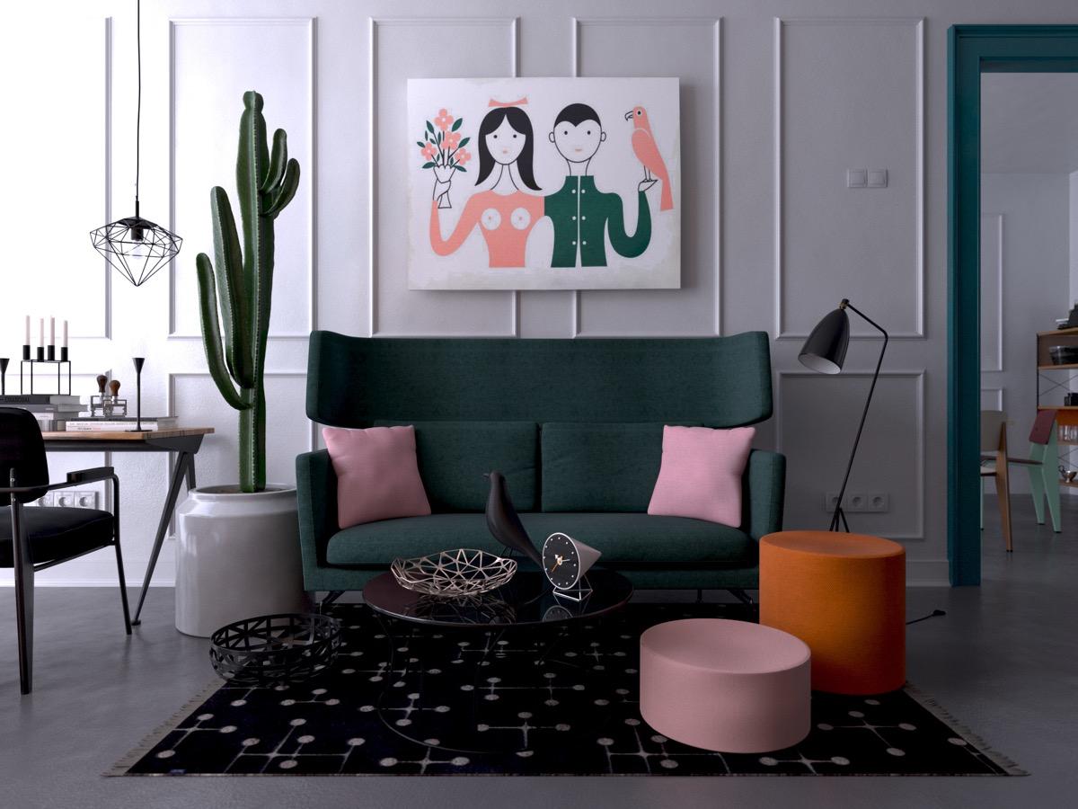 large-rug-cactus-green-loveseat