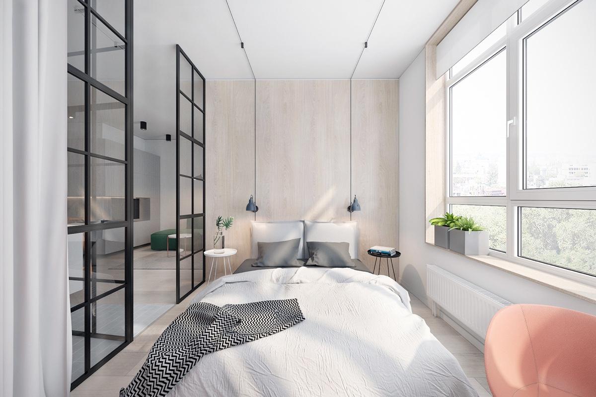 light-bedroom-glass-paned-windows