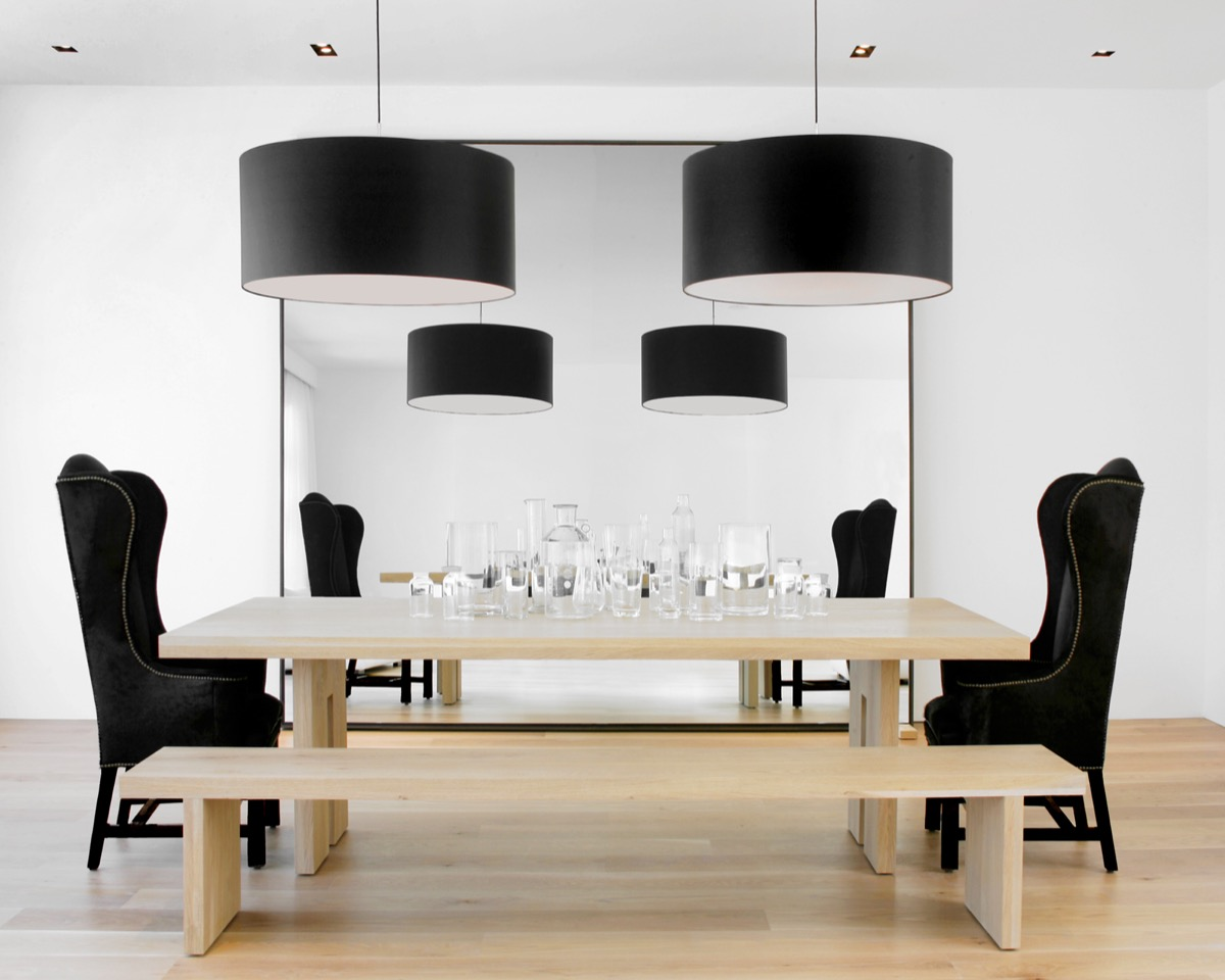 light-wooden-table-and-floor-black-and-white-dining-room