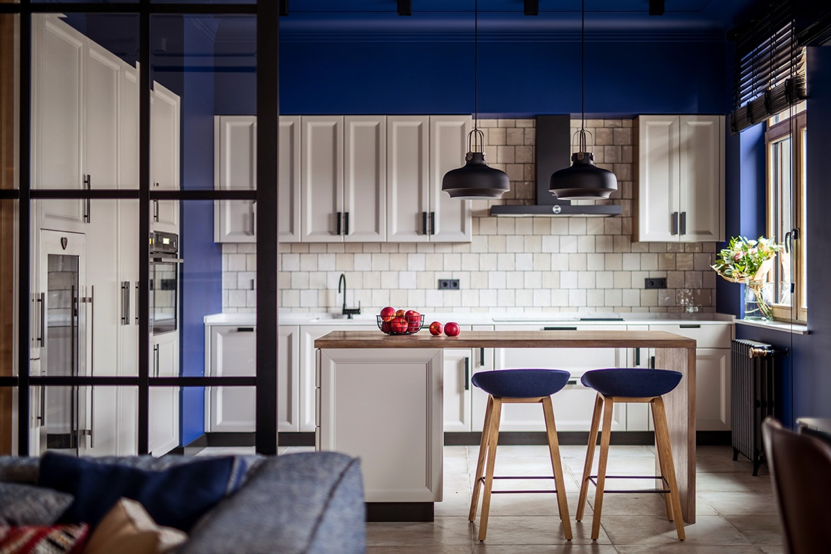 modern-kitchen-in-blue