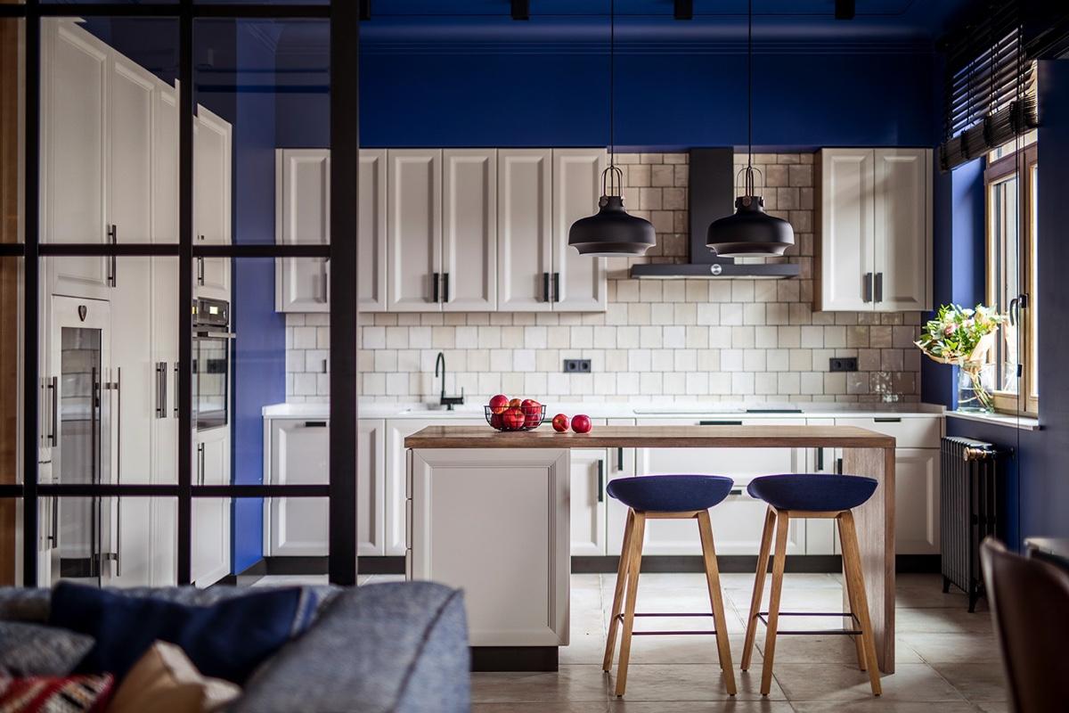 modern-kitchen-in-blue