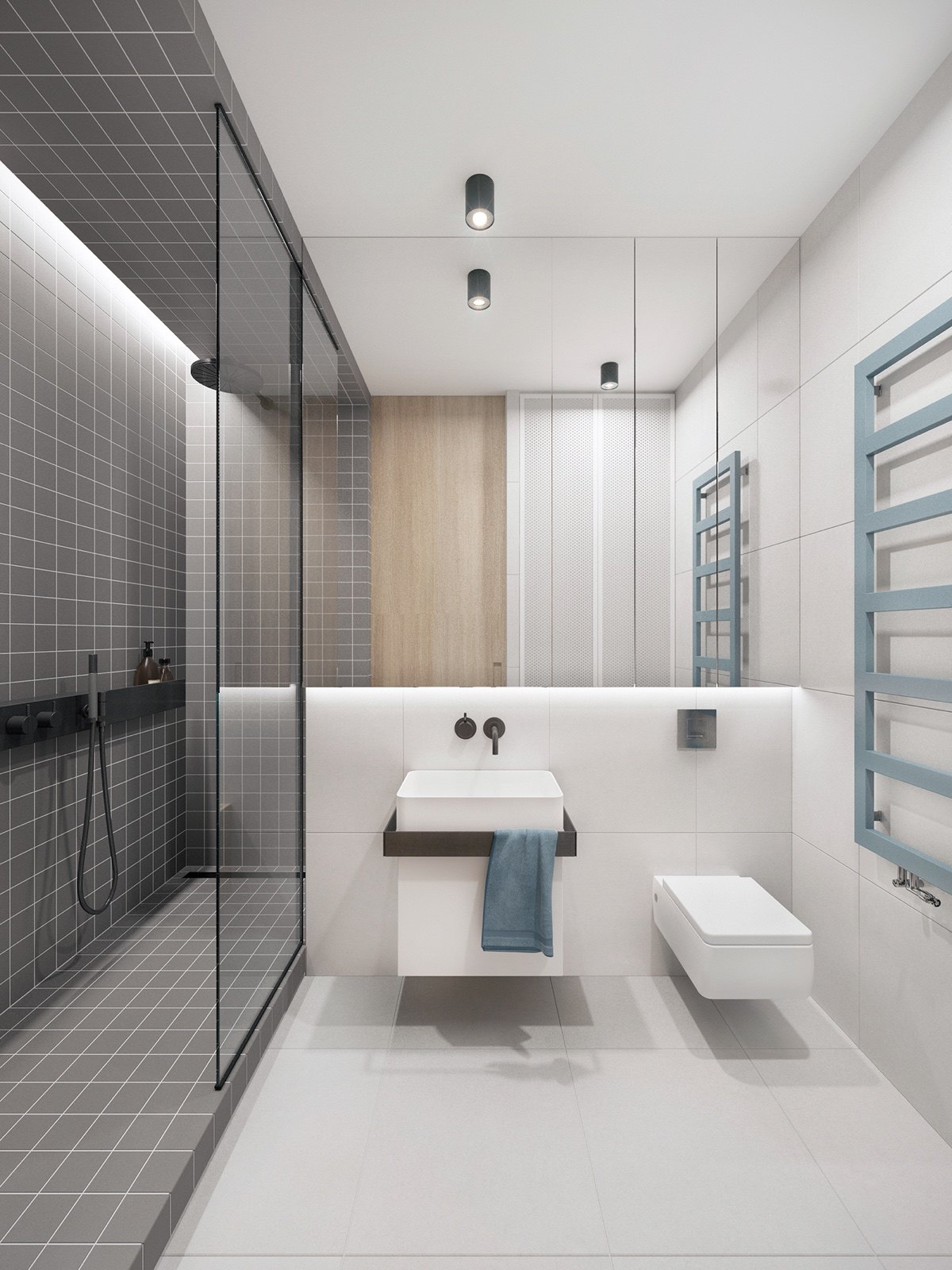 modern bathroom design trendy bathroom designs combined with modern and geometric 14223