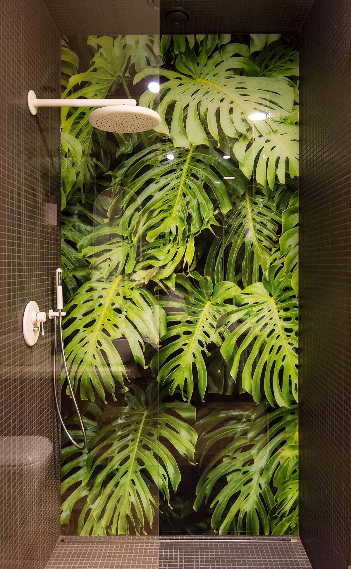 nature bathroom decor