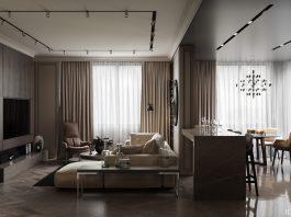 luxurious apartment studio apartment