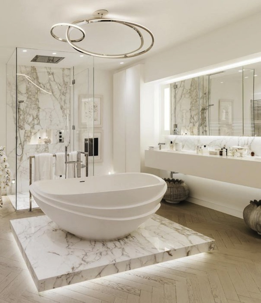 luxury extraordinary bathroom ideas