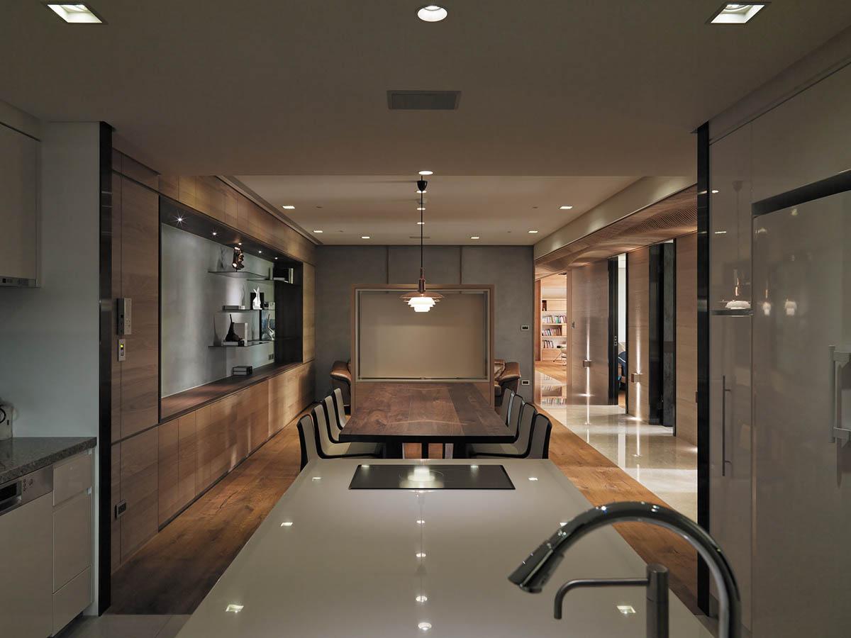 dark wooden for kitchen