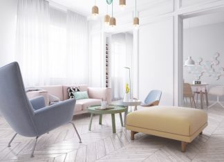 Scandinavian interior designs