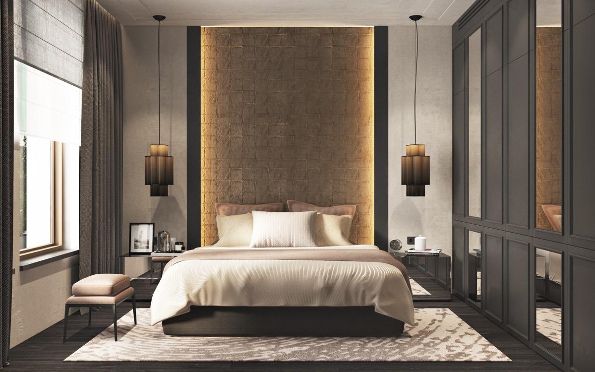 gray bedroom design