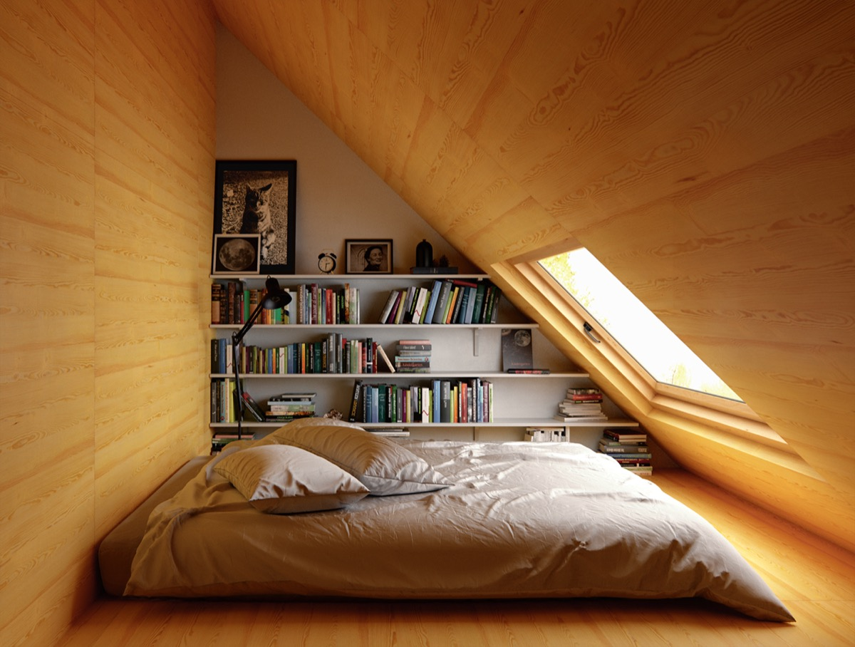 low-ceiling-attic-bedroom-design