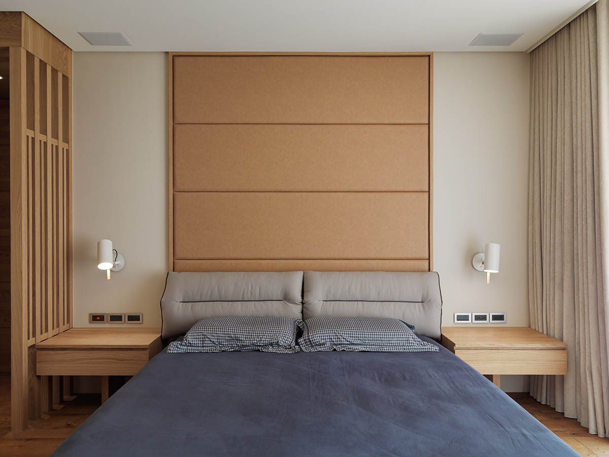minimalist wooden-bedroom-design